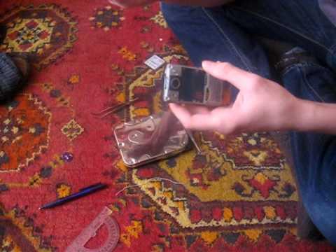 Краш тест Sony Ericsson k770i [починка экрана] ПЕРВОЕ ВИДЕО