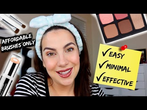 MAKEUP FOR PEOPLE WHO DON'T LIKE DOING MAKEUP thumbnail