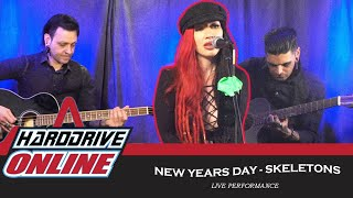 New Years Day - Skeletons (Live Acoustic) | HardDrive Online