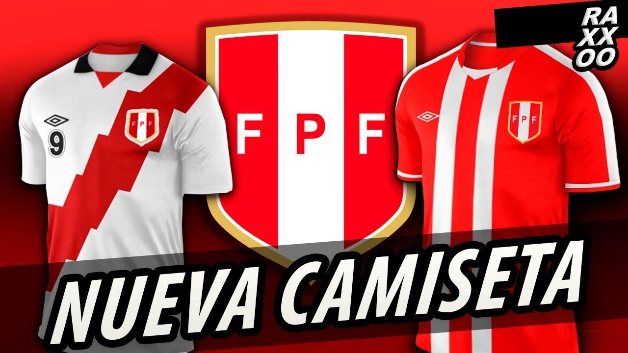 c378eb95243ea Nueva Camiseta Seleccion Perú - YouTube