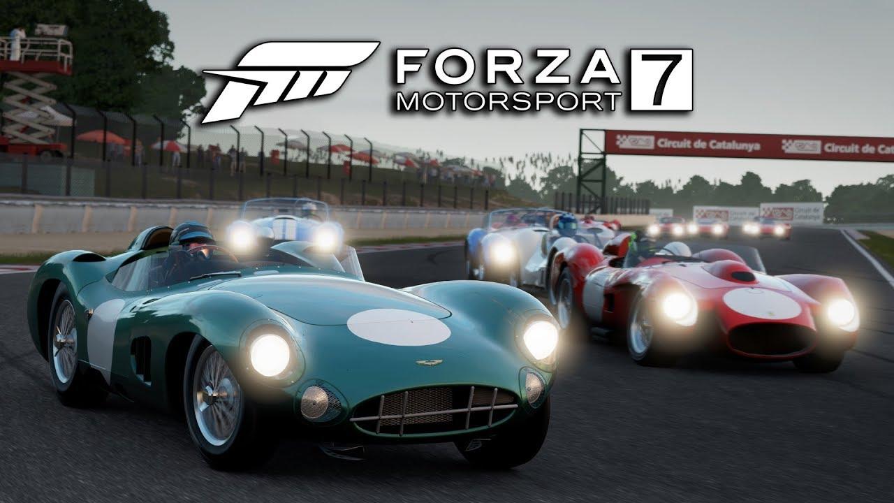 Forza Motorsport 7 | Vintage GT Race | 1958 Aston Martin DBR1 ...