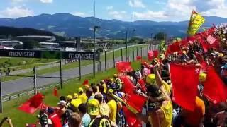 MotoGP# Red Bull Ring Spielberg Austria VR46 Fans