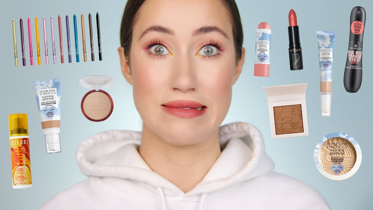 Trying More NEW Drugstore Makeup!!