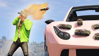 SUICIDE CARS vs. RPGs! (GTA 5 Funny Moments)