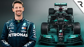 Grosjean's F1 'comeback' with Mercedes explained