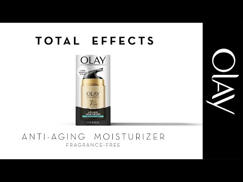 Total Effects 7-in-1 Anti-Aging Moisturizer, Fragrance Free | Olay