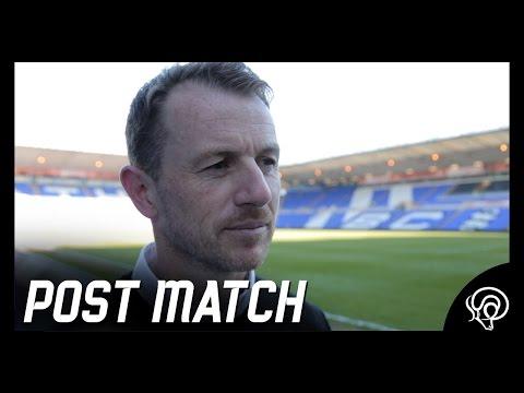 POST MATCH | Gary Rowett Post Birmingham City (A)