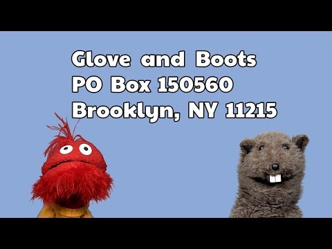 Glove and Boots Responds to Real Mail