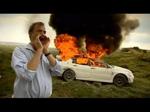 Mitsubishi Evo vs British Army Part 2 - Top Gear - BBC