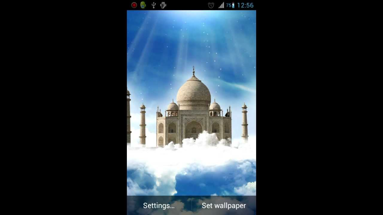 Taj mahal live wallpaper youtube - Taj mahal screensaver free download ...