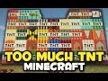 Minecraft: TOO MUCH TNT MOD (MAS DE 50 TNT Y DINAMITAS) MAS TNT MOD