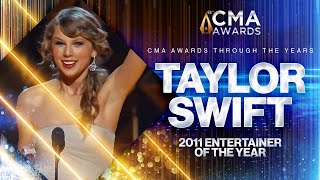 Taylor Swift: 2011 CMA Entertainer of the Year | CMA Awards | CMA