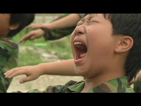 Boot camp for South Korean teens - no comment
