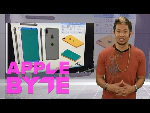 The iPhone 8 designs reveal rear Touch ID and dual-lens camera (Apple Byte)