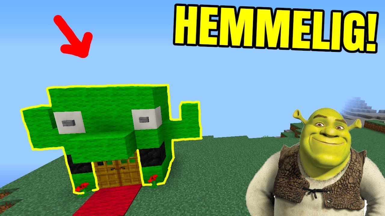 😲SHREK'S HEMMELIGE BASE!!😲 - Dansk Minecraft