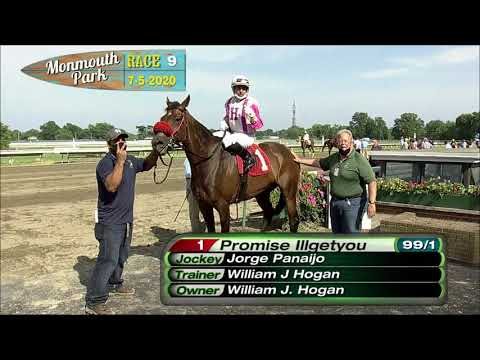 video thumbnail for MONMOUTH PARK 07-05-20 RACE 9