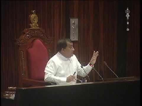 Parliament of Sri Lanka - 7 October 2016 Part 2