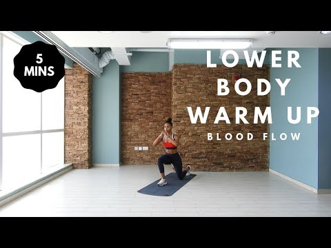 5 min WARM UP Workout: Lower Body & Glutes