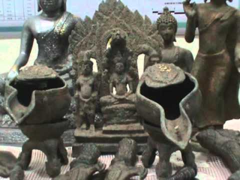 220654  พิษณุโลก จนท กรมศิลป์เร่งพิสูจน์วัตถุโบราณ หลังได้รับความสนใจจาก ปชช