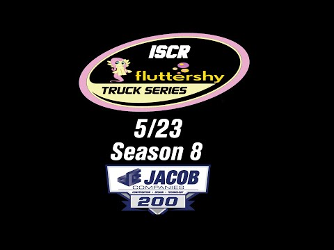 ISCR Flutteshy Truck Series 5/23 S8 - JACOB Companies 200 @ Dover
