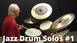 Jazz Drum Solo - Lesson #1 with Colin Bailey - Online Jazz Drum Lessons with John X(Learn how to play a jazz drum solo. http://colinbailey.com. In this lesson Colin Bailey demonstrates 4 two bar solos from his book,
