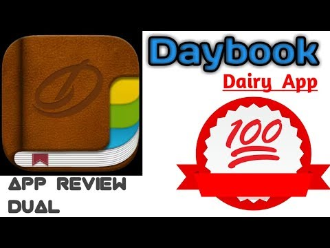 Dairy app | Daybook dairy | Journal, Notes, Dairy | App Review Dual [ हिन्दी में ]