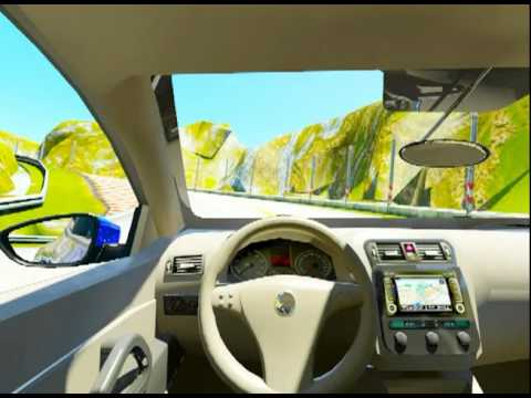 Fake Unity 3D driving game PS3 Commercial - YouTube