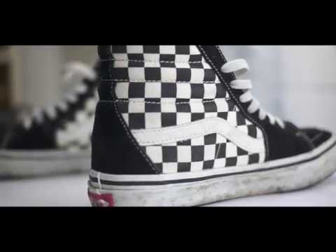 Dry Clean Vans Checkerboard