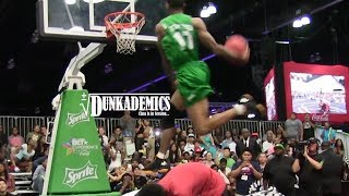 Guy Dupuy vs. Young Hollywood CRAZY Dunk Contest! Video