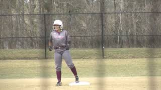 Highlights: Softball gets past Stonehill, 5-3