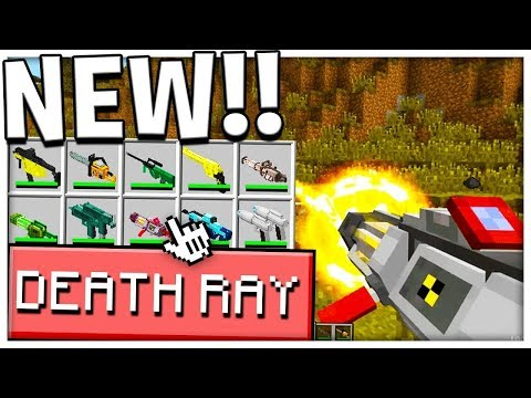 NUCLEAR DEATH RAY vs THE HARDEST MODDED MOBS - Monster Island - Modded Minecraft