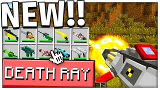 NUCLEAR DEATH RAY vs THE HARDEST MODDED MOBS - Monster Island - Modded Minecraft | JeromeASF