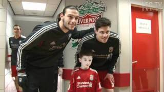Anfield Tunnel: Access All Areas v Man Utd