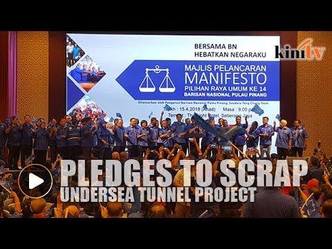 Penang BN launches manifesto ahead of Harapan