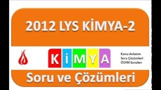 LYS 2012 Kimya Soru ve Çözümleri-2 (11-20)