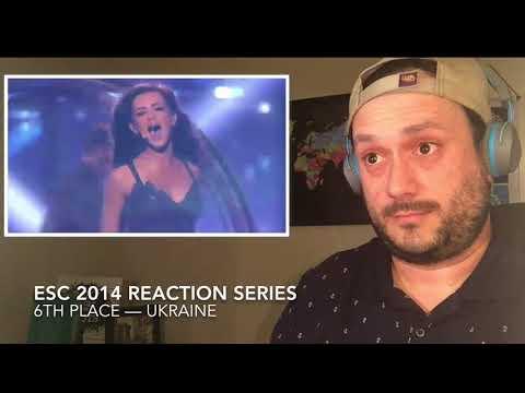 ESC 2014 Reaction To -6th Place- UKRAINE!