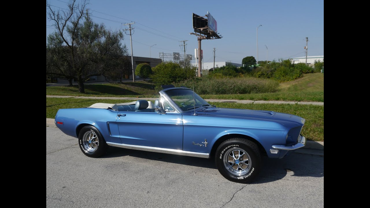 1968 ford mustang convertible sold sold sold youtube With convertible solde