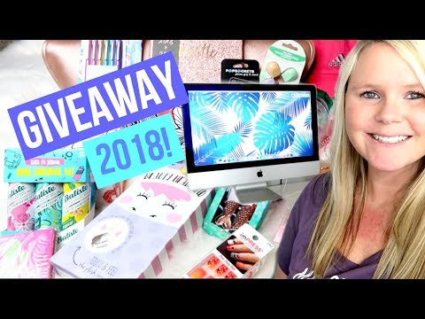 BACK TO SCHOOL GIVEAWAY 2018!