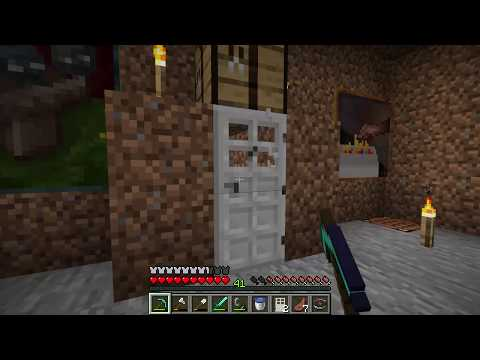 How To Open Iron Doors Guide - Minecraft