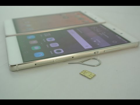 Huawei P8 / P8 Lite - How To Insert SIM Card & Micro SD Card HD