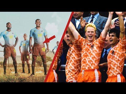 أجمل 10 قمصان على الاطلاق في تاريخ كرة القدم | العاشر ستتمنى شرائه..!!