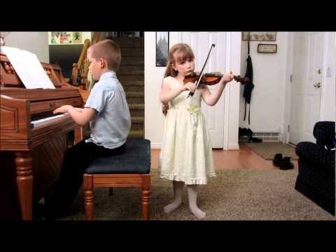 Jewelia and Caleb play The Two Grenadiers by Schumann