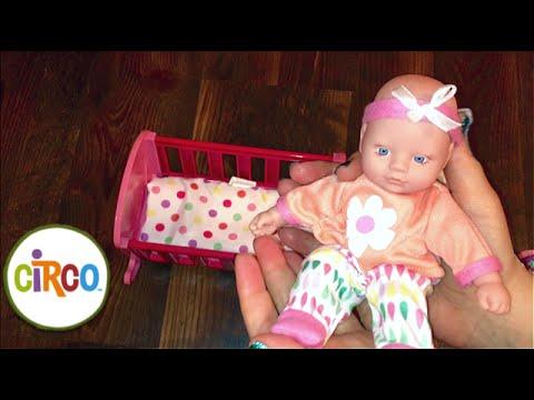 Target Circo Mini Sleep Amp Wake Baby Doll Unboxing Youtube