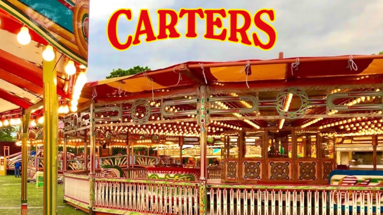 Carters Steam Fair Hersham Green Vlog 6th May 2019 Youtube