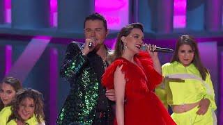 """Belinda y Horacio Palencia """"Amor a Primera Vista"""" en Premios de La Radio 2019"""