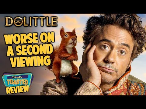 DOLITTLE 2ND VIEWING MOVIE REVIEW | Double Toasted