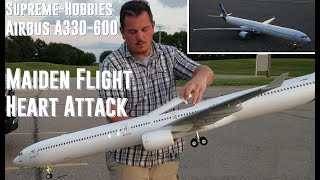 supreme hobbies airbus a330 600 maiden flight and heart attack