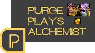 Dota 2 Purge plays Alchemist - stream