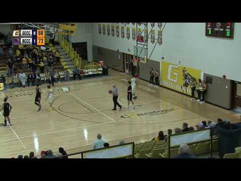 GCCC men's basketball VS Butler Community College