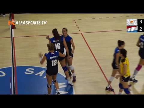ΑΜΚΕ 2017 | Cyprus vs Luxembourg | Volleyball Women | Video on Demand | 31/05/2017